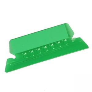 Esselte Plastic Hanging File Folder Tabs - 25 / Pack - Green