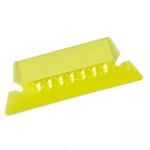 Esselte Plastic Hanging File Folder Tabs - 25 / Pack - Yellow