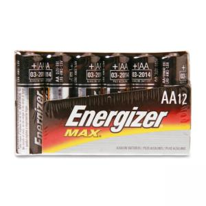 Eveready AA-Size Alkaline Battery Pack 12 / Pack