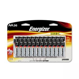 Eveready AA Size Alkaline General Purpose Battery - 36 / Pack