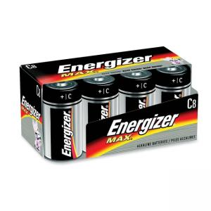 Eveready C Cell Alkaline Battery - 8 / Pack