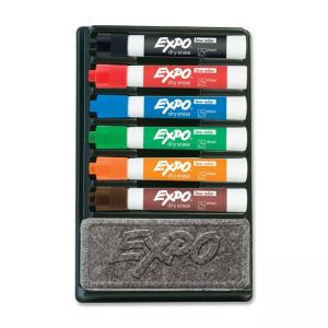 Expo II Dry Erase Marker Organizers - Assorted Colors - 6 / Set