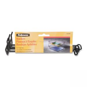 "Fellowes 64112 8"" Desk Tray Wire Stacking Support"