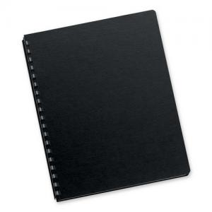 "Fellowes Futura Oversize Binding Cover Black 25 / Pack - 8.75"" x 11.25"""