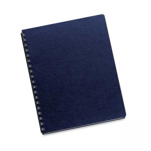 "Fellowes Linen Presentation Cover - Navy 200 / Pack - 8.5"" x 11"""