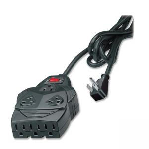 Fellowes Mighty 8 Outlet Surge With Modem/Phone Line Protection