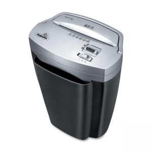 Fellowes Powershred W-11C Shredder - Cross Cut - 11 Per Pass - 5.5 Gallon Wastebasket