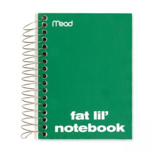 Five Star Fat Lil Fashion Notebook - 1 Each - 200 Sheets