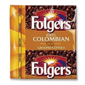 Folgers 100% Colombian Pouch Coffee - 42 / Carton