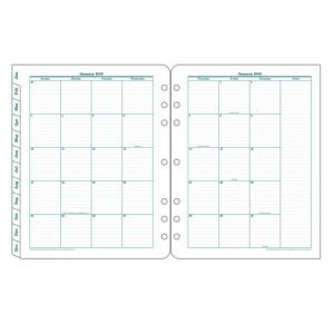 "Franklin Covey Original Monarch Monthly Tab - 8.50"" x 11"""