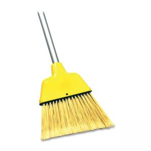 Genuine Joe 09570 Manual Broom - 1 Each - Yellow