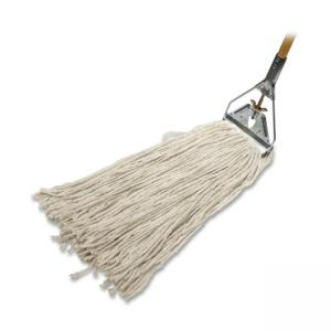Genuine Joe  Cotton Wet Mop with Handle - 1 Each