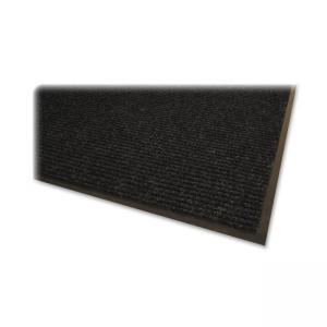Genuine Joe Golden Series Walk-Off Mat -  Charcoal Gray - 1 Each
