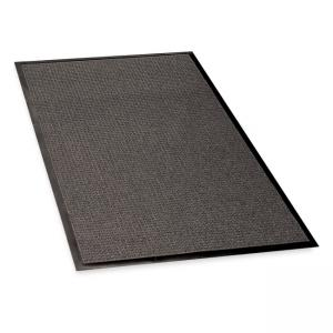 Genuine Joe Waterguard Mat - Charcoal - 1 Each