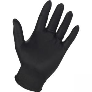 Genuine Joe 6mil Nitrile Pwdr Free Indust Gloves - Small Size - Puncture Resistant, Textured, Powder-free - Nitrile - 100 / Box
