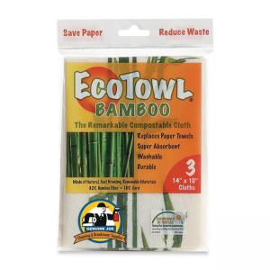Genuine Joe Cleaning Cloth - Eco Towel - 3 / Pack