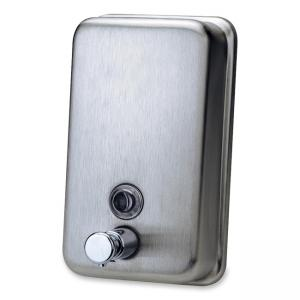 Genuine Joe Stainless Steel Soap Dispenser - 1 Each