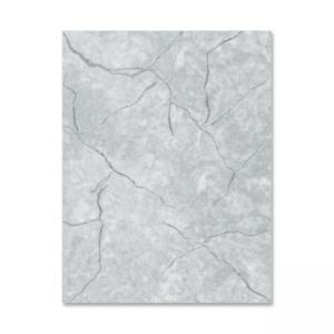 Geographics Marble-Gray Image Stationery - 100 / Pack - Gray