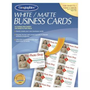 Geographics Royal Brites Business Card