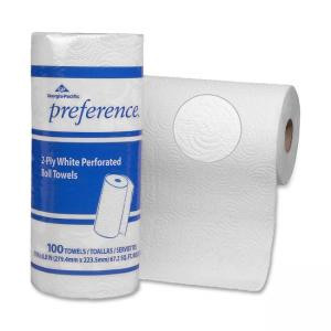 Georgia-Pacific Preference Perforated Roll Towel - 100 sheets/roll