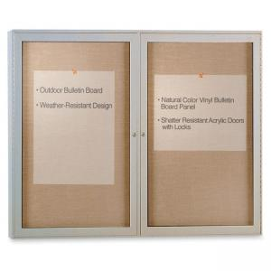 "Ghent Enclosed Message Center - 1 / Each - 36"" x 48"""
