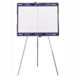 Ghent Portable Presentation Easel - Gray - 1 Each