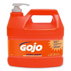 Gojo Natural Orange Smooth Heavy-duty Hand Cleaner - 4 Quart - 1 Each