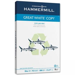 Hammermill Great White Copy Multipurpose Paper - 500 / Ream