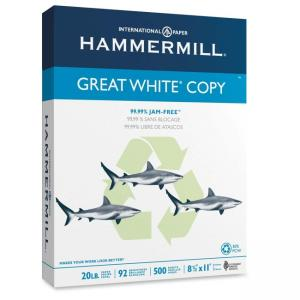 Hammermill Great White Copy Paper - 5000 / Carton - White