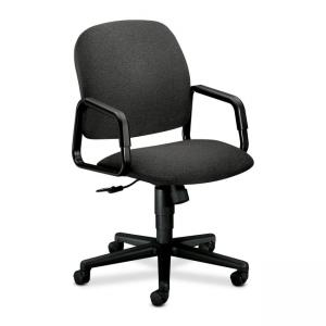 HON Solutions Seating 4001 Executive High-Back Chair -  Olefin - Gray - 1 Each