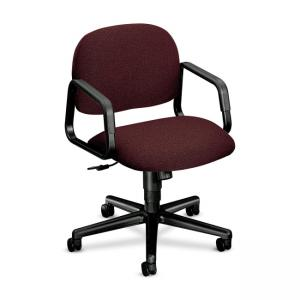 HON Solutions Seating 4002 Mid-Back Chair - Black