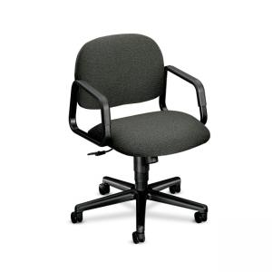 HON Solutions Seating 4002 Mid-Back Chair - 1 Each - Black
