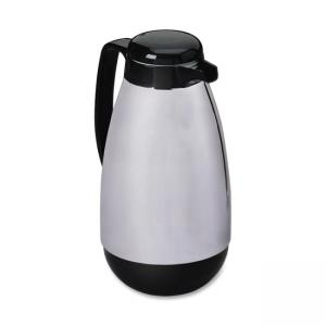 Hormel Contemporary Insulated Carafes - Chrome - Black