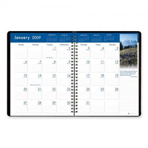 "House of Doolittle Earthscapes Monthly Planner - 8.50"" x 11"""