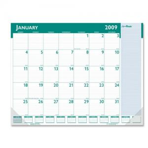 House of Doolittle Express Track Desk Pad Calendar - Monthly