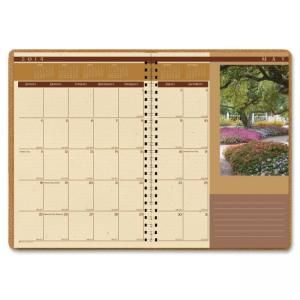 "House of Doolittle Landscape 2PPM Monthly Planner (HOD524) Daily, Monthly - 8.50"" x 11"""