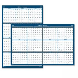 House of Doolittle Reversible Wall Calander - Monthly