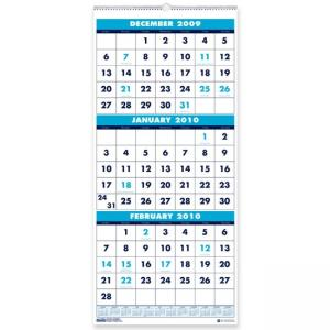 "House of Doolittle Vertical Wall Calendar - 12.25"" x 27"""