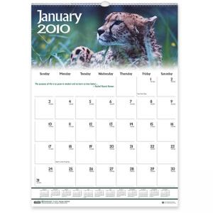House of Doolittle Wildlife/Inspirational Wall Calendar - Monthly