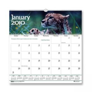 House of Doolittle Wildlife Wall Calendar - Monthly