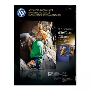 HP Advanced Photo Paper - 60 / Pack