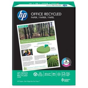 HP Office Recycled Paper - 5000 / Carton - White