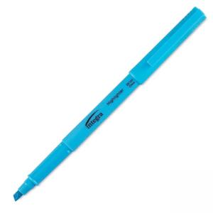 Integra Pen Style Fluorescent Highlighter Blue - 12 / Dozen