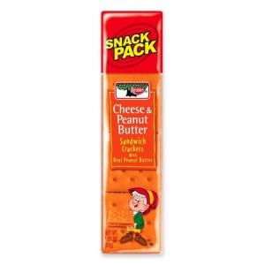 Keebler Cheese and Peanut Butter Sandwich Crackers - 12 / Box
