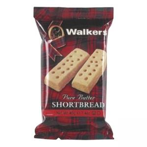 Keebler Walkers Shortbread Cookies - Butter - 24 / Box