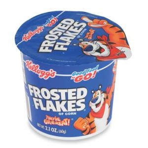 Kelloggs Frosted Flakes in a Cup Cereal  - 6 / Box
