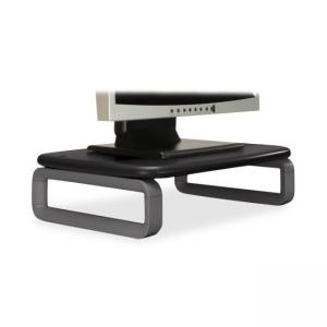 Kensington 60089 Monitor Stand Plus with SmartFit System - Black - Gray