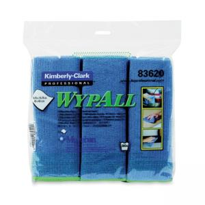 Kimberly-Clark Wypall Microfiber Cloth - Absorbent