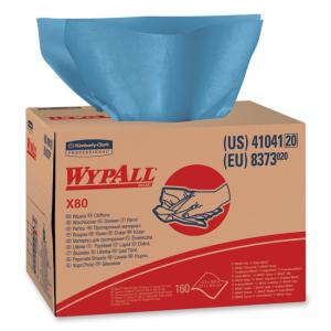 Kimberly-Clark Wypall X80 Cloth Towel - 1 Box