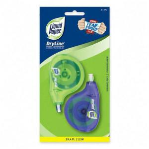 Liquid Paper Dryline Correction Tape -  2 / Pack - White